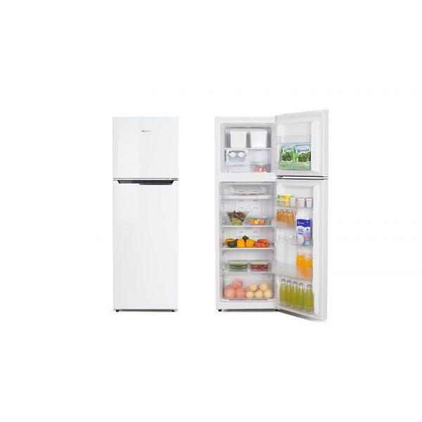 230Lt White 2 Door Fridge