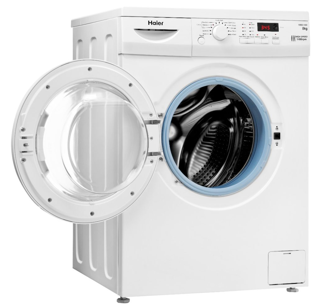 4_Open washing machine