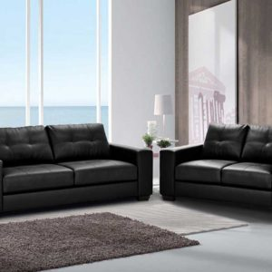Ann PU Leather Lounge Suite 3+2
