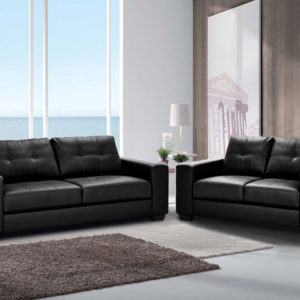 Ann PU Leather 3 seater Lounge Suite