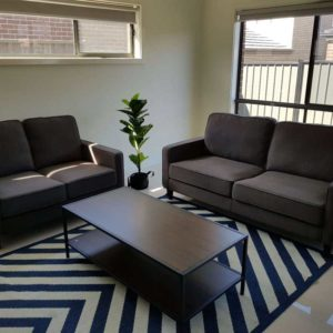 Apartment 2 + 2.5 Seater Fabric Lounge Suite