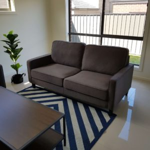 Apartment 2.5 Seater Fabric Lounge Suite
