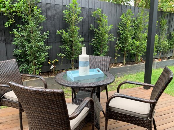 Dove 5 Piece Outdoor Dining Setting - Click on Rentals