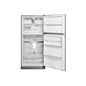 Haier 475LT 2 Door Stainless Steel Fridge Freezer
