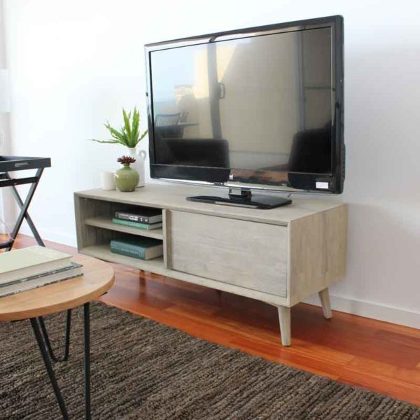 TV in Living Room - Click on Rentals