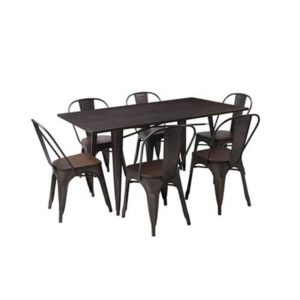Loft 7 Piece Dining Setting