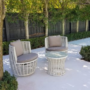 Luca 3 Piece Patio Set