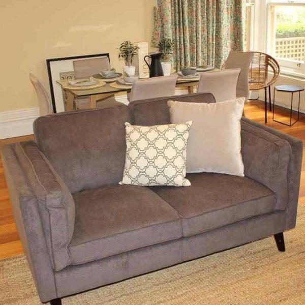 Margaret Plush 3 + 2 Seater Fabric Lounge Suite