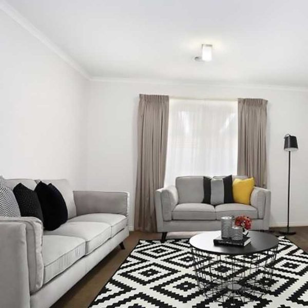 Margaret Plush 3 + 2 Seater Fabric Light Grey Lounge Suite