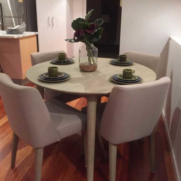 Seattle 4 Person Dining Set - Click on Rentals