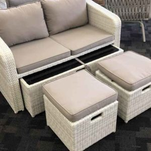 Sorrento 4 Piece Lounge Set