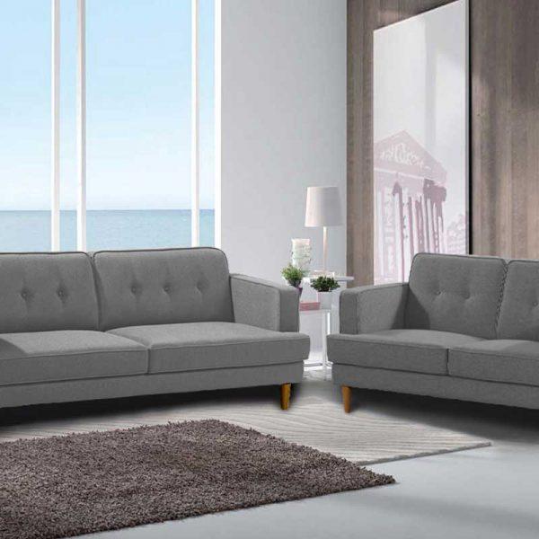 Laura Pebble Style Sofa - Click on Rentals