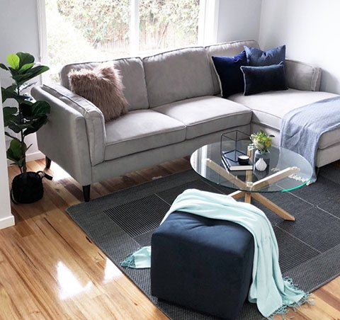 Home staging - Living room