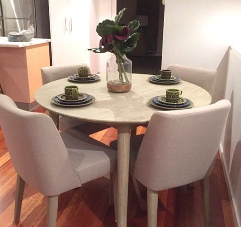 Dining Table Night - Click on Rentals