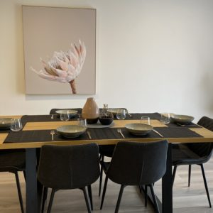 Heston 7 Piece Dining Setting