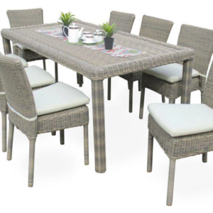 Maui 7 Piece Outdoor Dining Set