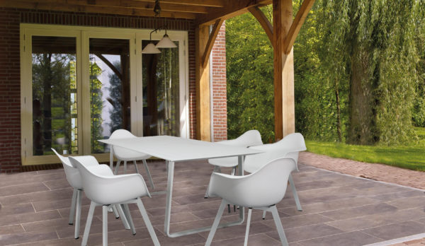 Kythra 7 Pce Outdoor Dining Setting - Click On Rentals
