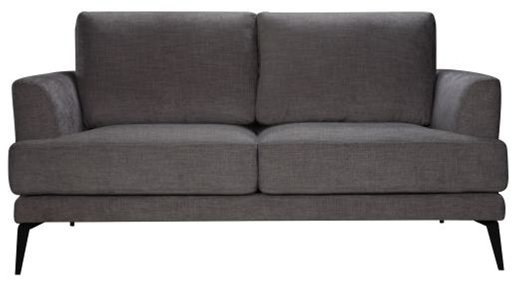 Lucie DK Grey 2 Sofa - Click On Rental