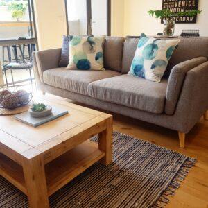 Kara 3 + 2 Seater Fabric Lounge Suite