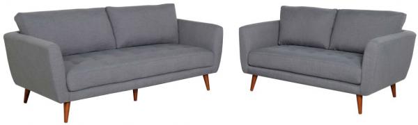 Elysse Grey Sofa - Click on Rentals