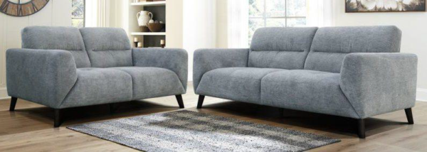 Hugo 3 and 2 Seater Pewter - Click on Rentals