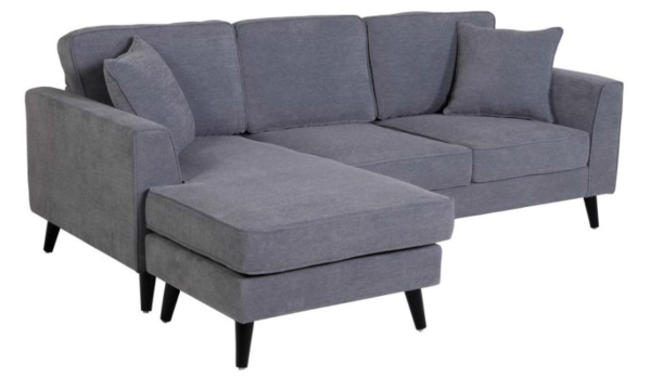 Montrose 3 Seater Lounge Suite with Reversible Chaise - Click on Rentals