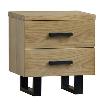 Heston Bedside Table - Natural