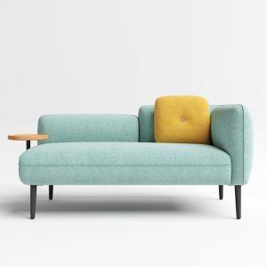 Howard 2 Seater Sofa with Arm Tray