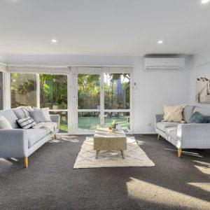 Chevron 3 + 2 Seater Fabric Lounge Suite