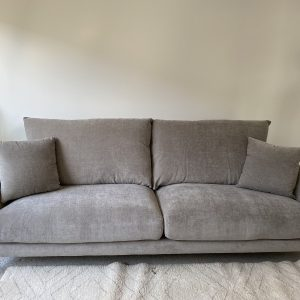 Kasey 3 Seater Fabric Lounge Suite supplied with 2 cushions
