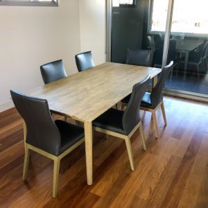 Seattle 7 Piece Dining Setting W/Chairs