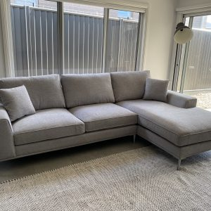Summit 3 Seater Fabric Lounge Suite with RH Chaise