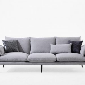 Tara 3 Seater Fabric Lounge Suite