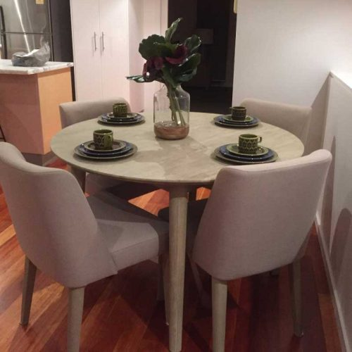 Seattle 5 Piece Dining Setting Styled